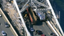 Burlington Skyway scaffolding collapse