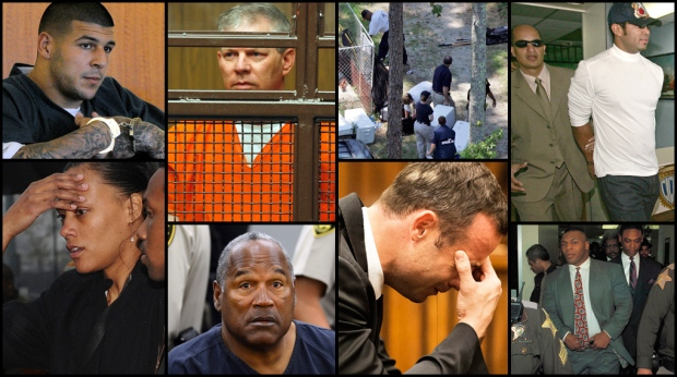 What happens when athletes go from money, fame and glory, to a court of law? With closing arguments in the Oscar Pistorius trial underway, CTVNews.ca's Christian Boyer takes a look at athletes whose falls from grace included a criminal sentence.