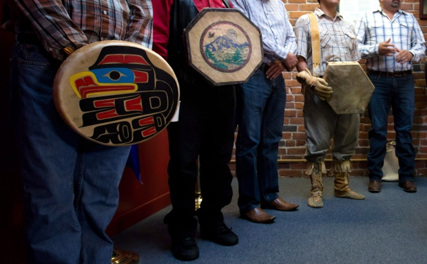 First Nations chiefs after Supreme Court ruling