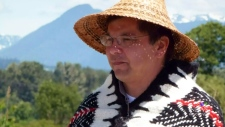 Kwikwetlem First Nation Chief Ron Giesbrecht