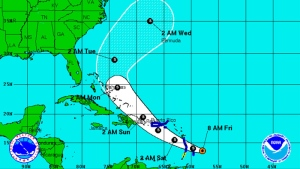 Tropical Storm Bertha approaches Caribbean