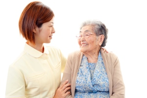 Women who enter menopause early may age faster than women in whom menopause arrives later. (Shutterstock / Sunabesyou)