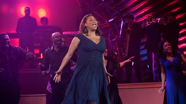 Queen Latifah in a scene from Warner Bros.' 'Joyful Noise.'