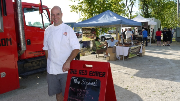 The Red Ember Food Truck Winnipeg
