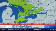 CTV News Channel: Via passenger train crash