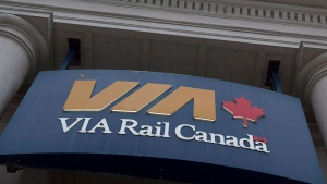 The Via Rail station is seen in Halifax on June 13, 2013. (Andrew Vaughan/THE CANADIAN PRESS)