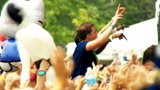 Security issues at music festivals