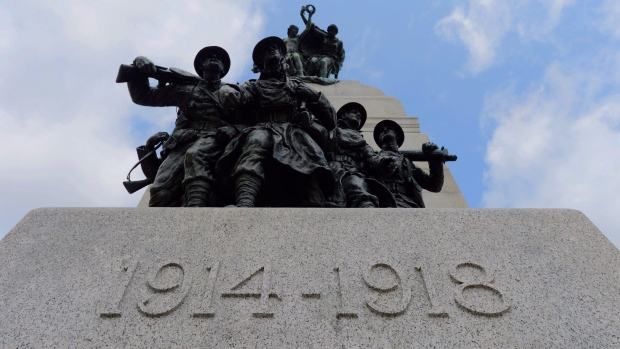 Harper marks 100th anniversary of WWI
