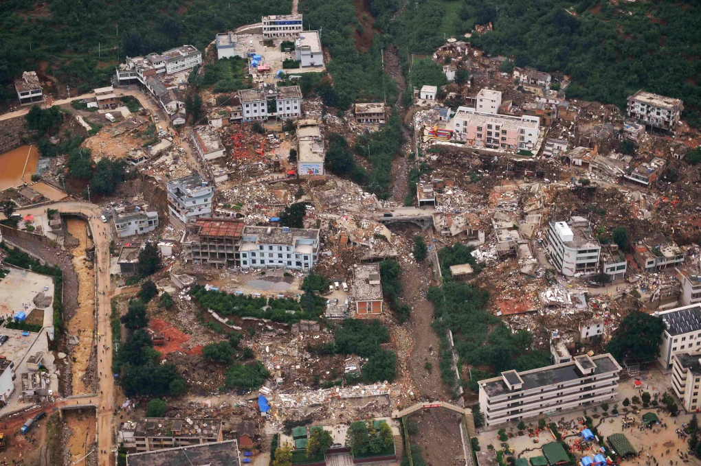 Powerful earthquake rocks china ctv news for Landscaping rocks windsor ontario