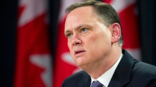 Liberal House leader David McGuinty speaks to the media during a news conference in Ottawa (Adrian Wyld / THE CANADIAN PRESS)