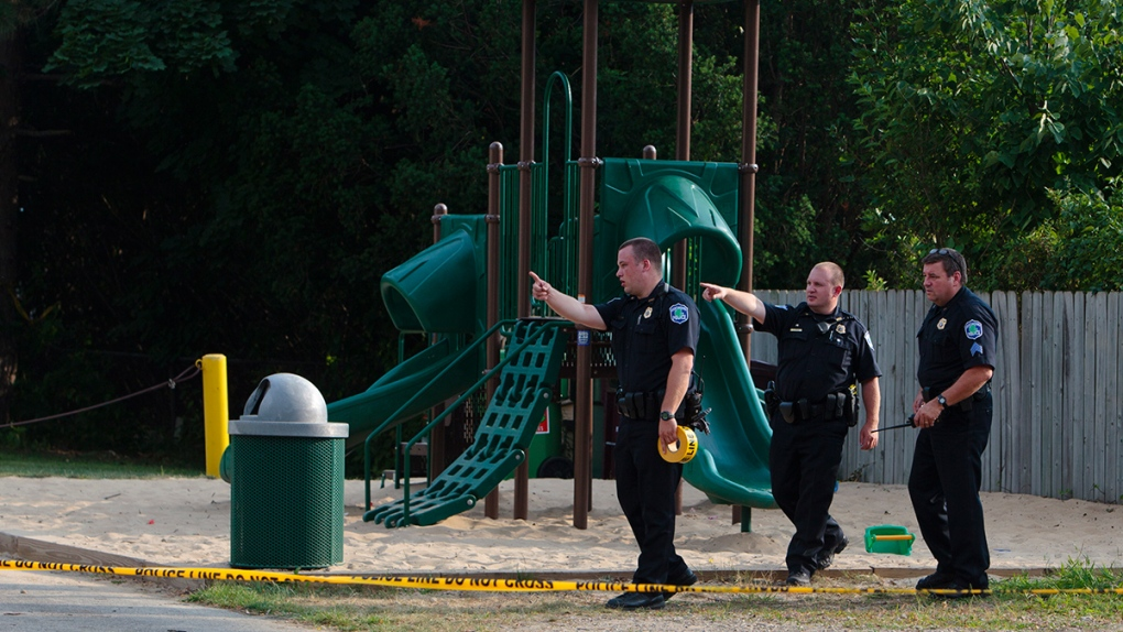 Stabbing at a playground in Michigan