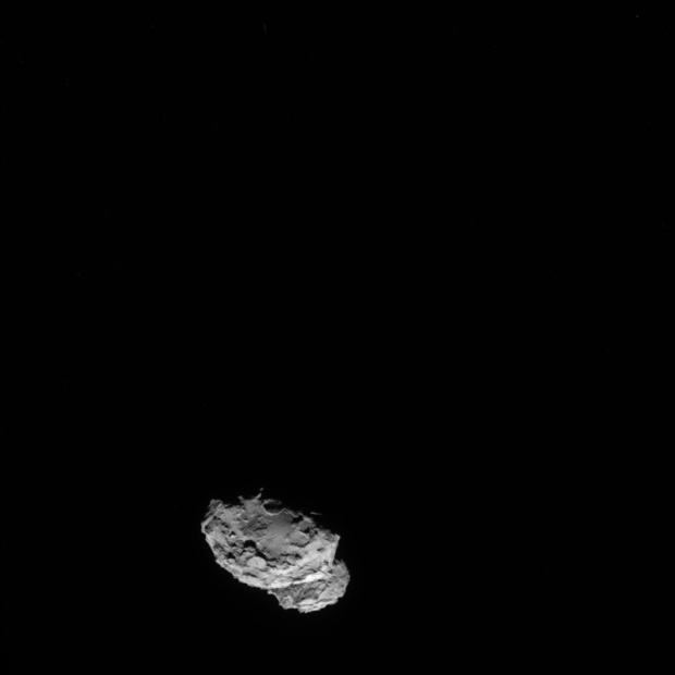 Rosetta probe catches up with comet