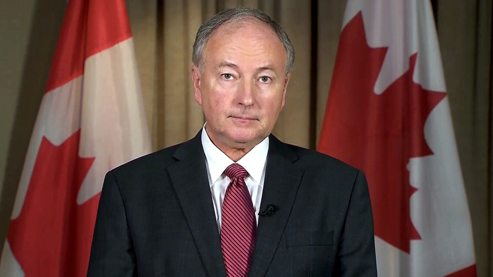 Defence Minister Rob Nicholson speaks with CTV News about new sanctions against Russia, Wednesday, Aug. 6, 2014.
