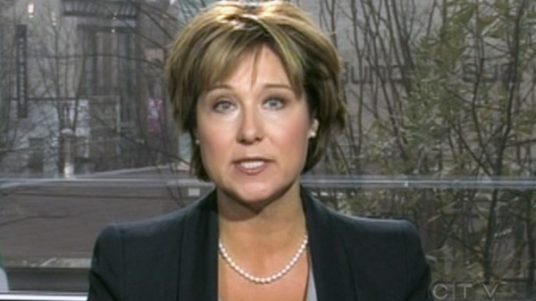 B.C. Premier Christy Clark speaks on CTV's Power Play on Sunday, Jan. 15, 2012.