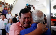 Survivors after Khmer Rouge leaders given life