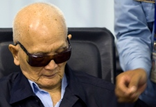 Nuon Chea at Khmer Rouge trial