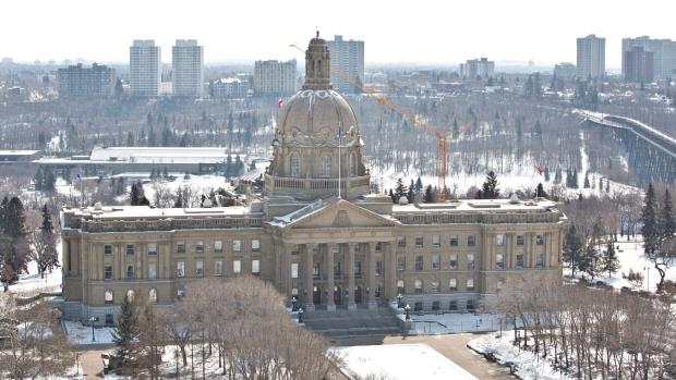 Alberta Legislature - March 2014