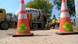 Roadwork in Saskatoon. (File photo)