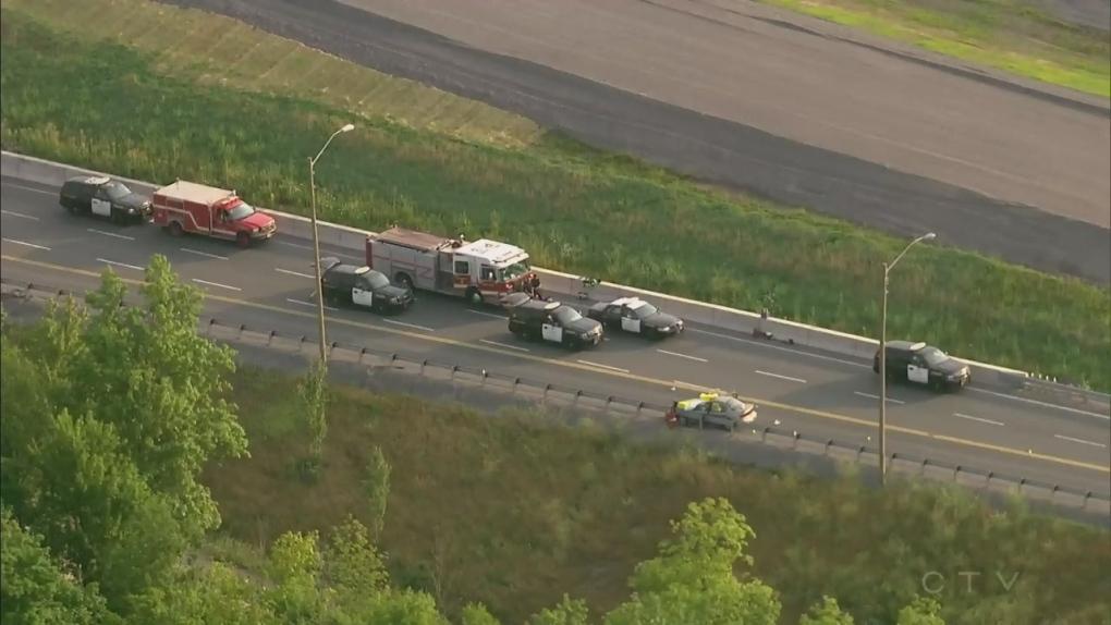 Extended: Chopper over Welland fatal crash | CTV News Toronto