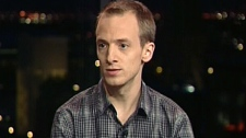 Samuel Lavoie, president of the Liberal youth wing, appears on CTV's Power Play on Monday, Jan. 16, 2012.