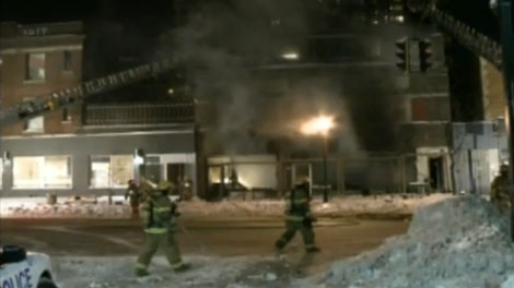 Dusty's diner on Park Ave. was damaged by fire on Sunday evening.