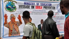 Ebola prevention campaign in Liberia