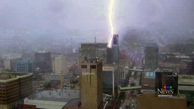 severe storm or not  lightning a big concern  environment