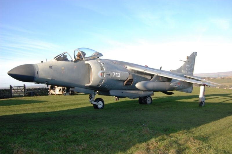 A retired Royal Navy FA2 Sea Harrier jet owned by an Alberta-based aircraft collector is listed on online classified website Kijiji for $1.5 million.