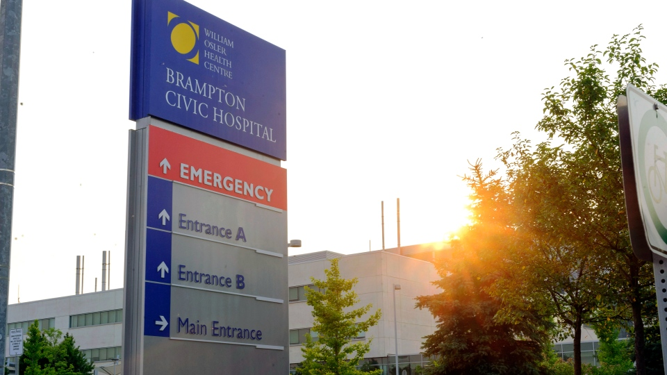 Brampton hospital holds possible Ebola patient