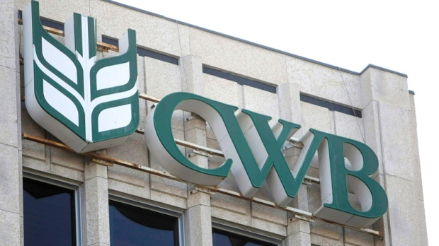 The Canadian Wheat Board (CWB) building is shown in Winnipeg on Wednesday, Dec. 7, 2011. (Trevor Hagan / THE CANADIAN PRESS)