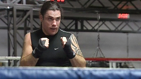 Conservative Sen. Patrick Brazeau will be fighting Liberal MP Justin Trudeau to raise money for cancer research at Ottawa's Hampton Inn Convention Centre on Saturday, March 31, 2012.