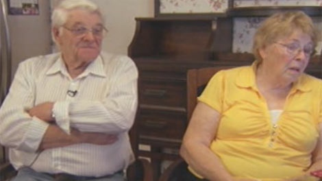 Lee (left) and Ines Harrison from Winnipeg had spent the last 12 winters in their Texas home, but now have a legal fight to get it back.