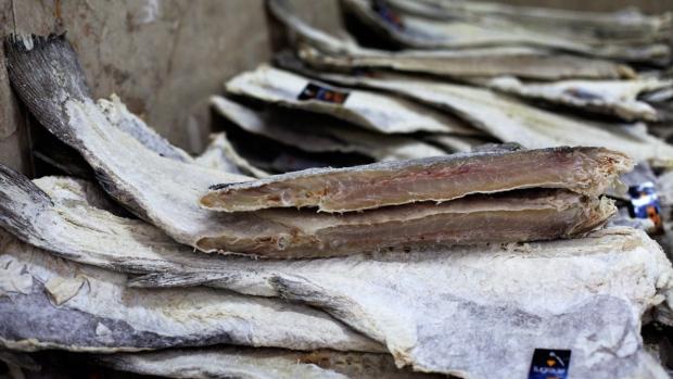 Dried cod in Lisbon, 2013