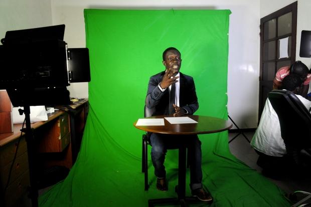 Senegalese rapper Keyti