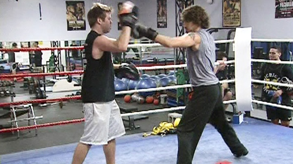 Liberal MP Justin Trudeau is shown training at an Ottawa boxing gym in this undated photo.