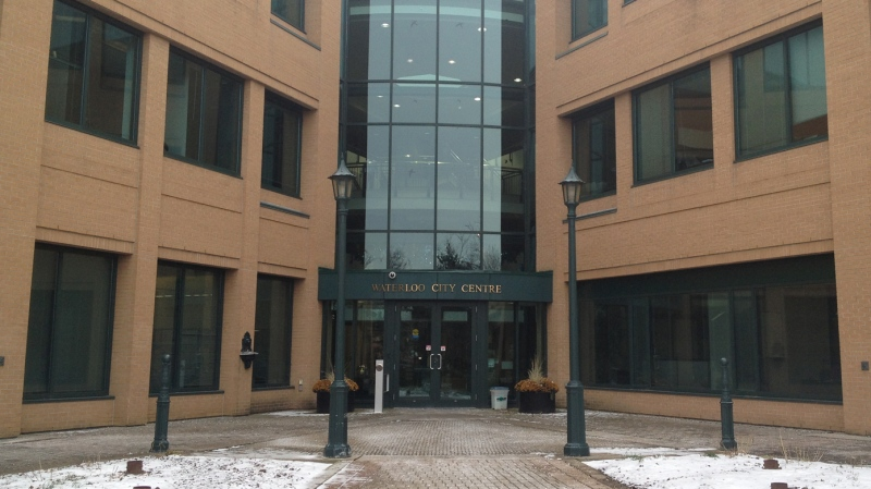 Waterloo City Hall is seen on Wednesday, Nov. 27, 2013. (David Imrie / CTV Kitchener)