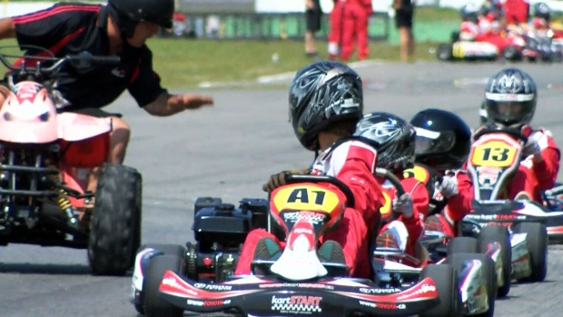 Go karts teach kids how to become safer drivers ctv for Go kart montreal exterieur