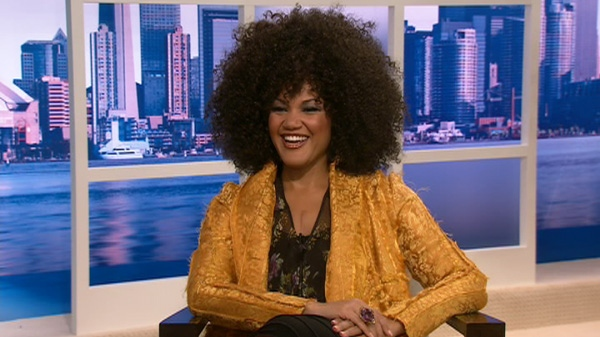 Canadian opera star Measha Brueggergosman appears on Canada AM, Wednesday, Jan. 18, 2012.