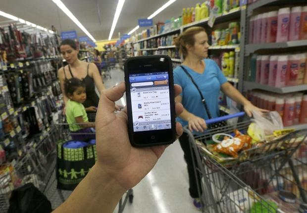 Wal-mart Scan & Go app