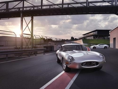 Jaguar's lightweight E-Type