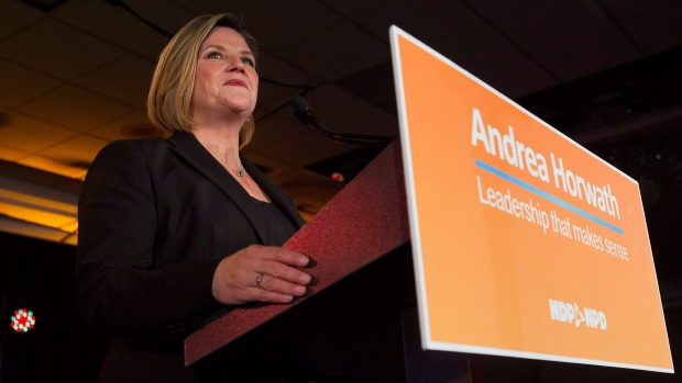 Horwath says platform left labour movement out