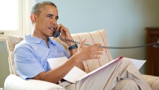 Harper, Obama discuss Iraq on the phone