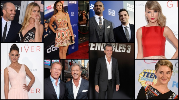 <b>25 Photos: Action! On the Red Carpet</b> <br><br>Hollywood&#39;s action stars young and old, hit the red carpet for movie premieres like &#39;The Expendables 3&#39; and &#39;Let&#39;s Be Cops&#39;, and to take in awards for hits like &#39;Divergent&#39; and more. Take a look at these 25 red carpet looks.