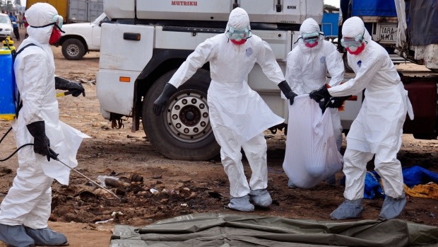 Tekmira stock swings amid Ebola outbreak