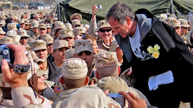 Robin Williams remembered for military shows