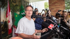 Marc Emery returns to Canada