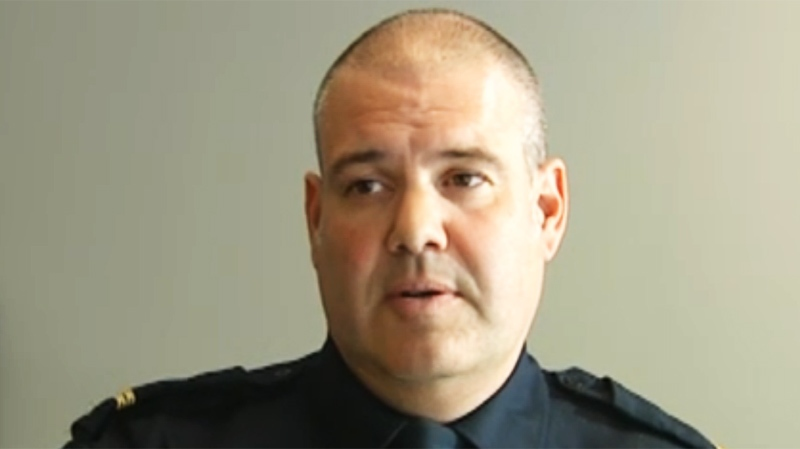 Laval police rep Stephane Pilon does not recommend others imitate the young man's video antics.