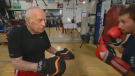 Abe Pervin broke the Guinness World Record as the oldest active boxing coach at 95. He passed away Sept. 19.