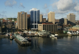 The Halifax waterfront is seen in this Oct. 24, 2003, file photo. (Andrew Vaughan/THE CANADIAN PRESS)