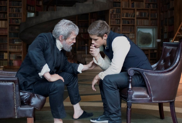 Scene from the movie 'The Giver'